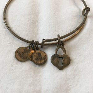 Gold Heart Alex and Ani